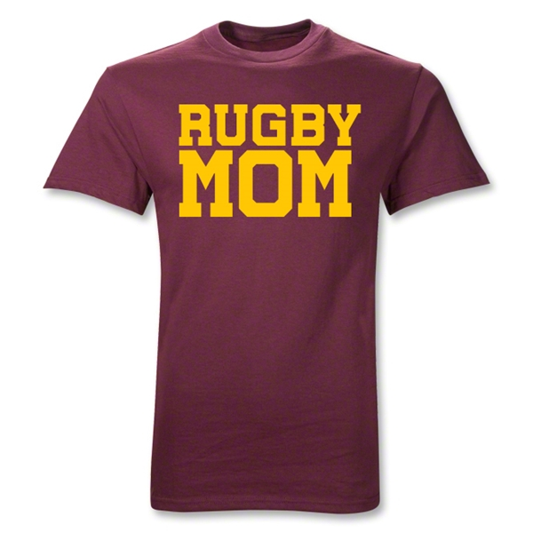 Rugby Mom T-Shirt (Maroon)