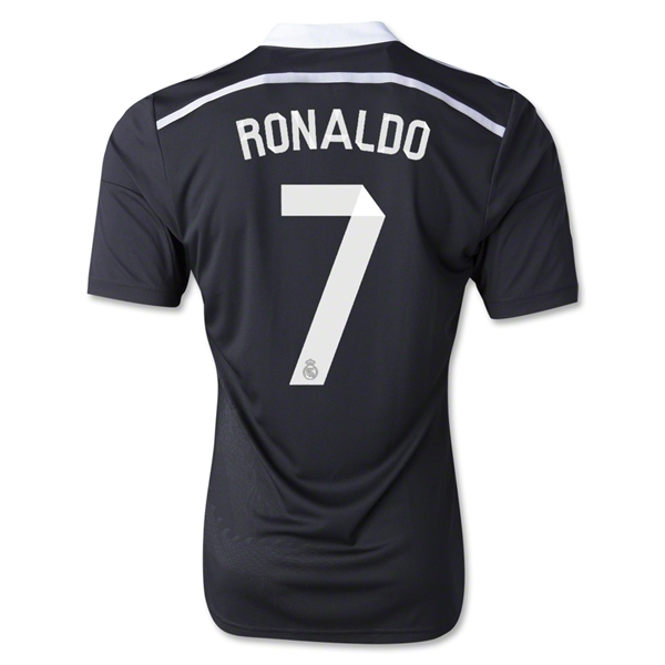 Real Madrid 14/15 RONALDO Third Soccer Jersey