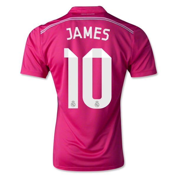Real Madrid 14/15 JAMES Away Soccer Jersey