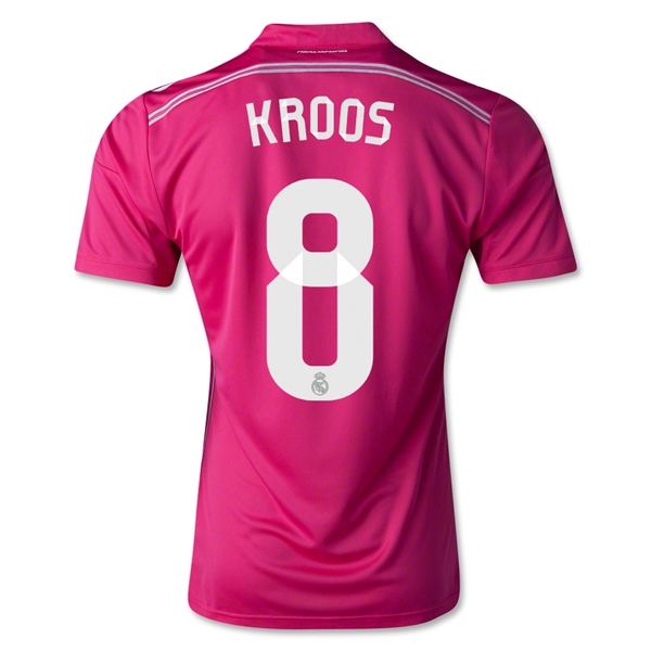 Real Madrid 14/15 KROOS Authentic Away Soccer Jersey