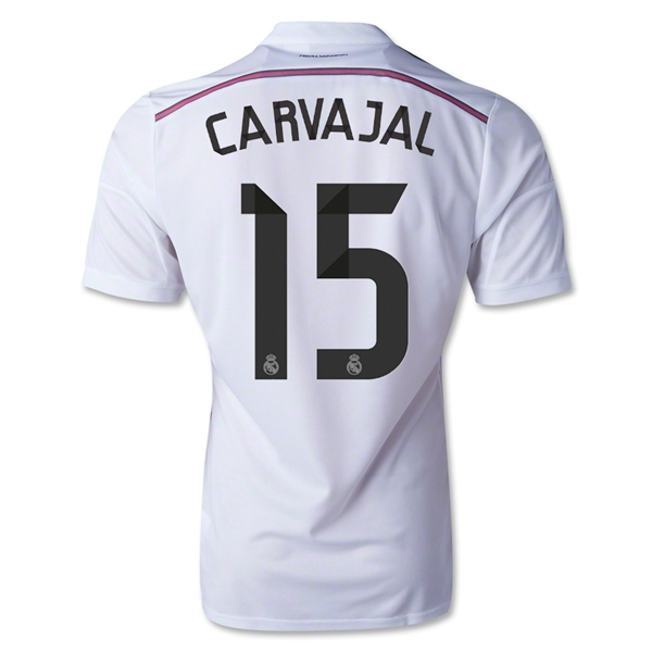 Real Madrid 14/15 CARVAJAL Authentic Home Soccer Jersey