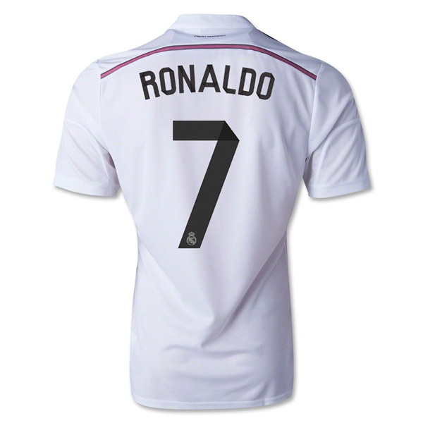 Real Madrid 14/15 RONALDO Authentic Home Soccer Jersey