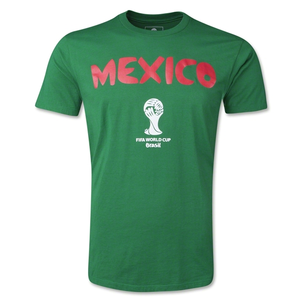 Mexico 2014 FIFA World Cup T-Shirt (Green)