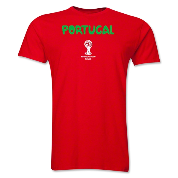 Portugal 2014 FIFA World Cup T-Shirt (Red)