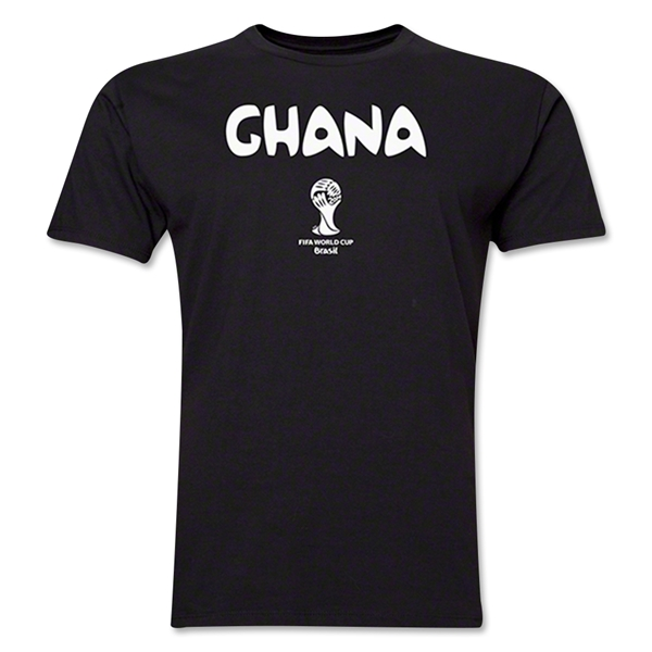 Ghana 2014 FIFA World Cup T-Shirt (Black)