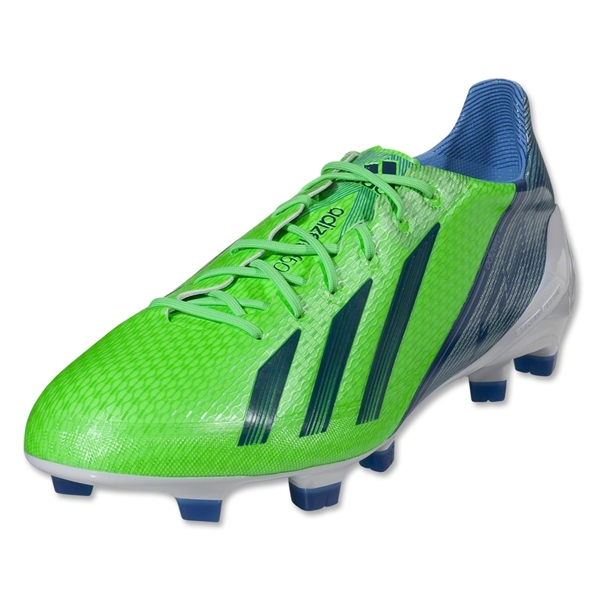 adidas F50 adizero TRX FG synthetic miCoach compatible (Green Zest/Running White)