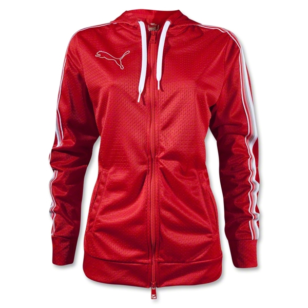 PUMA OTF Zip-Up Hoody (Red)