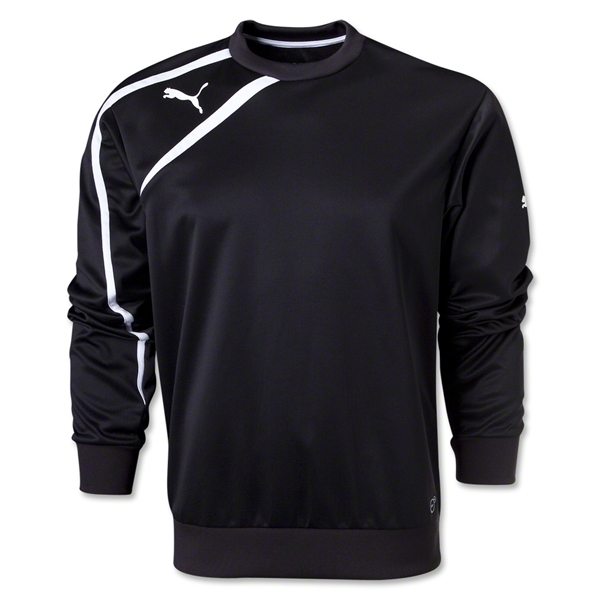 PUMA Spirit Sweat Top (Blk/Wht)