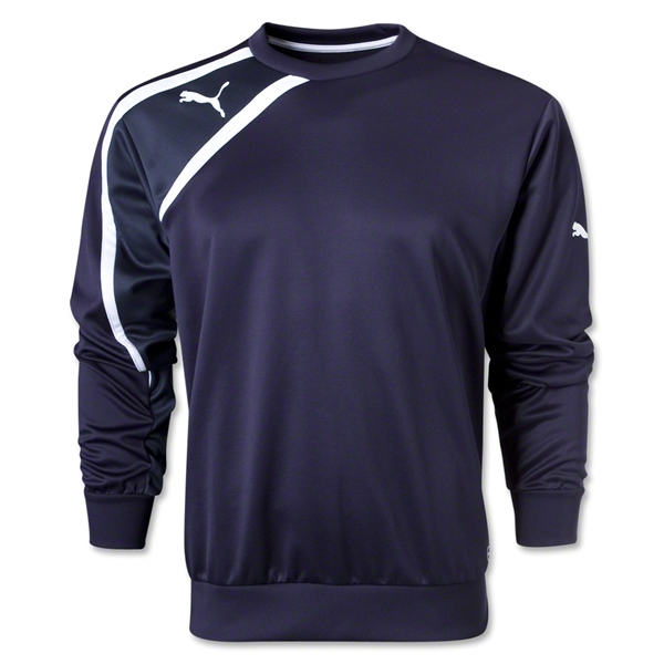 PUMA Spirit Sweat Top (Navy/White)