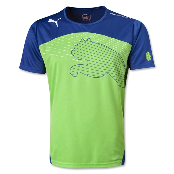 PUMA evoSPEED Cat Graphic T-Shirt (Blue)