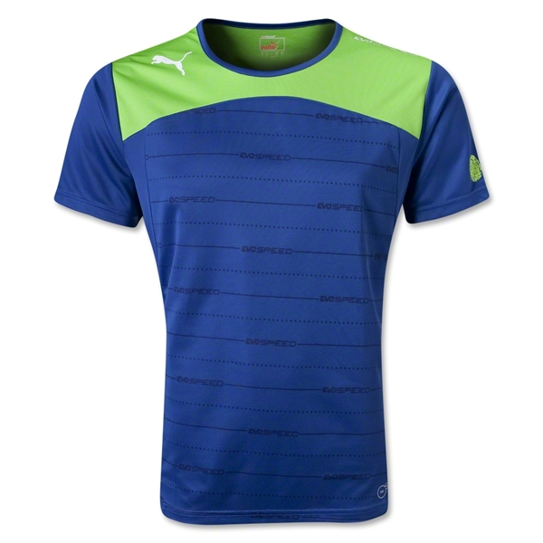 PUMA evoSPEED Tech Performance T-shirt (Blue)