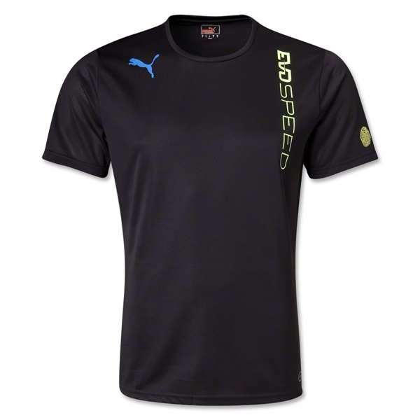 PUMA evoSPEED Training T-Shirt (Blk/Yellow)