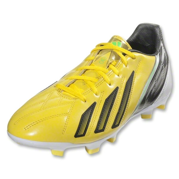 adidas F30 TRX FG Leather (Vivid Yellow/Black)