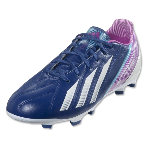 adidas F30 TRX FG Leather (Dark Blue/Running White)