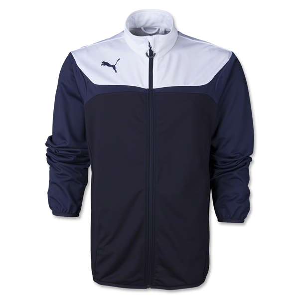 PUMA Tricot Jacket (Navy/White)