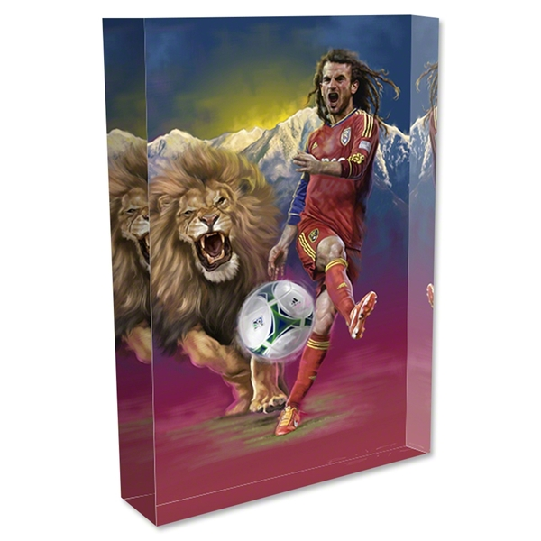 Kyle Beckerman Painting Acrylic Block