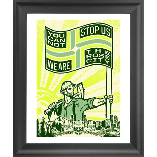 We Are the Rose City Framed Print