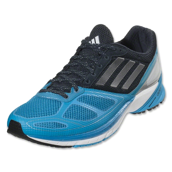 adidas adizero Tempo 6 Running Shoe (Solar Blue/Neo Iron Metallic/Night Shade)