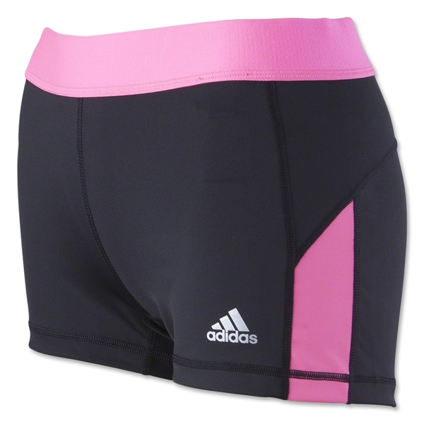 adidas Techfit 3 Boy Short (Bk/Fl Pi)