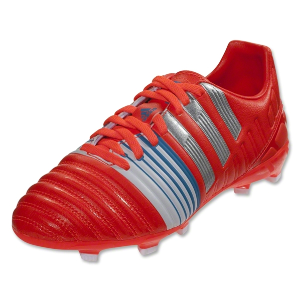 adidas Nitrocharge 3.0 FG Junior (Infrared/Metallic Silver/Running White)