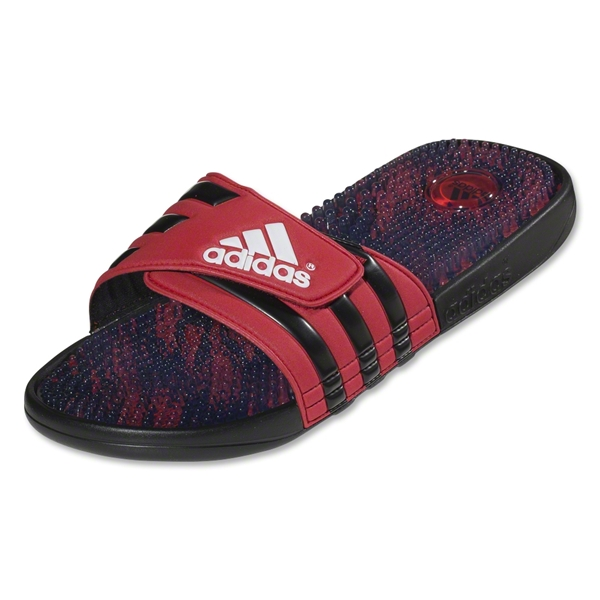 adidas adissage Graphic Sandal (Black/Red)