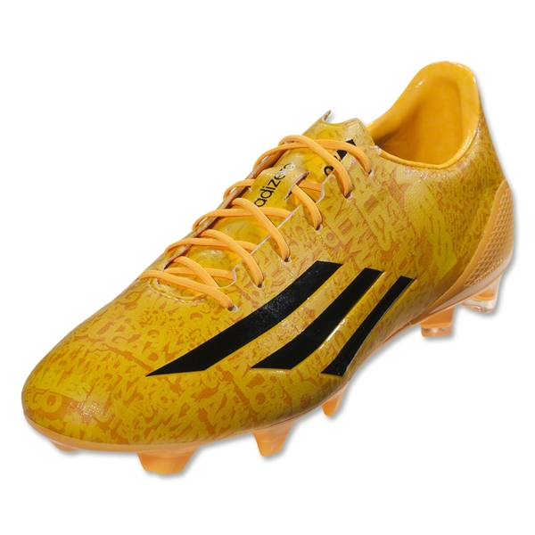adidas F50 adizero FG Messi (Running White/Neon Orange)