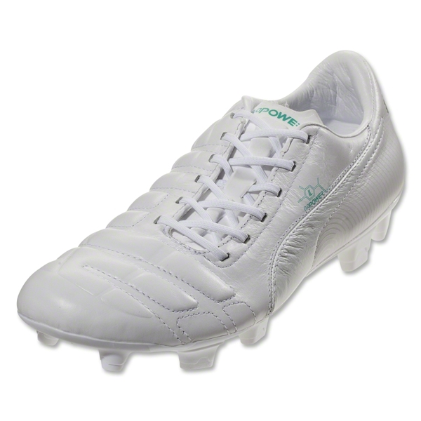 PUMA evoPower 1 L FG (White/Pool Green)