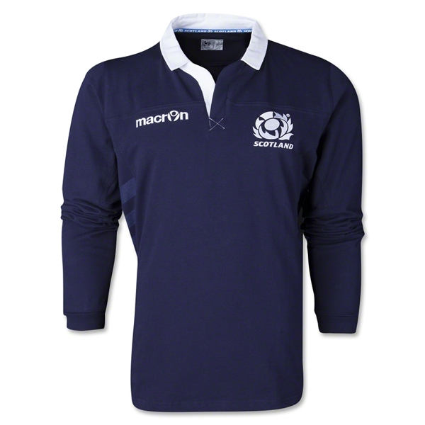 Scotland 2014 LS Supporter Rugby Jersey
