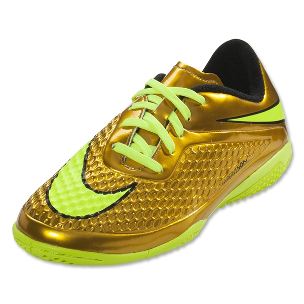 Nike Hypervenom Phelon IC Junior (Metallic Gold Coin/Black/True Yellow)
