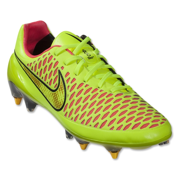 Nike Magista Opus SG Pro (Volt/Metallic Gold Coin)