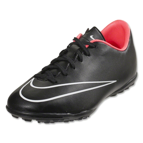 Nike Junior Mercurial Victory V TF (Black/Hyper Punch)