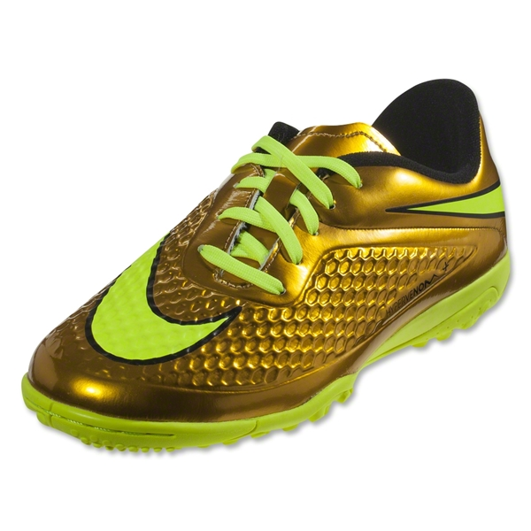 Nike Hypervenom Phelon TF Junior (Metallic Gold Coin/Black/True Yellow)