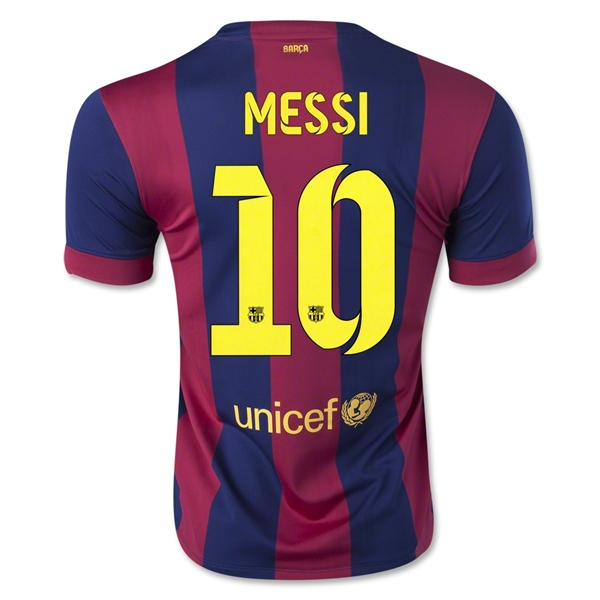 Barcelona 14/15 MESSI Home Soccer Jersey