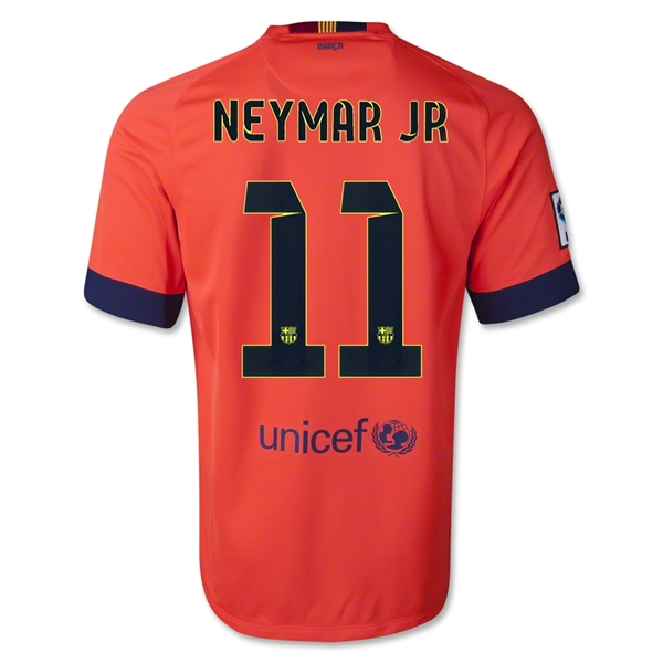 Barcelona 14/15 NEYMAR JR Away Soccer Jersey