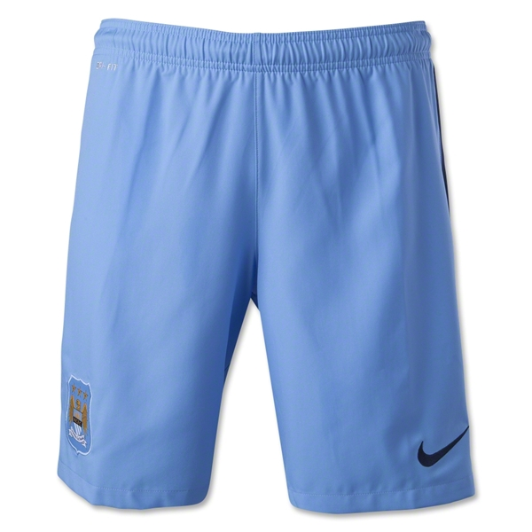 Manchester City 14/15 Home Soccer Short
