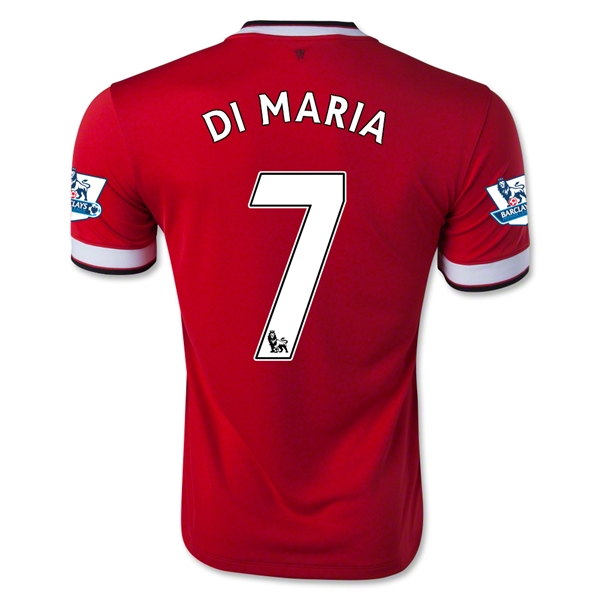 Manchester United 14/15 DI MARIA Home Soccer Jersey