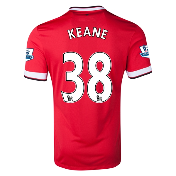 Manchester United 14/15 KEANE Home Soccer Jersey