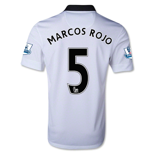 Manchester United 14/15 MARCOS ROJO Away Soccer Jersey