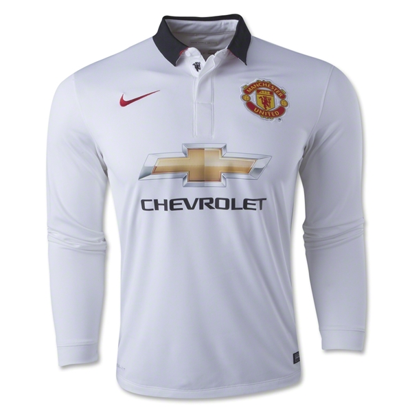 Manchester United 14/15 LS Away Soccer Jersey