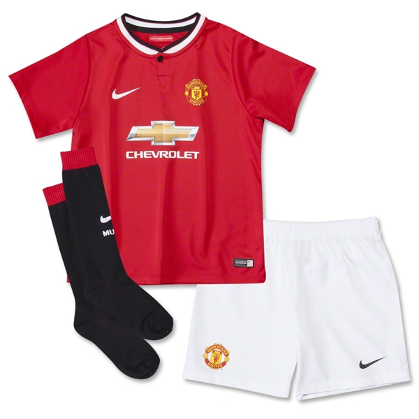 Manchester United 14/15 Kids Home Kit