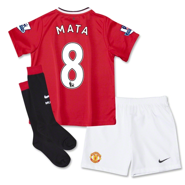 Manchester United 14/15 MATA Kids Home Kit
