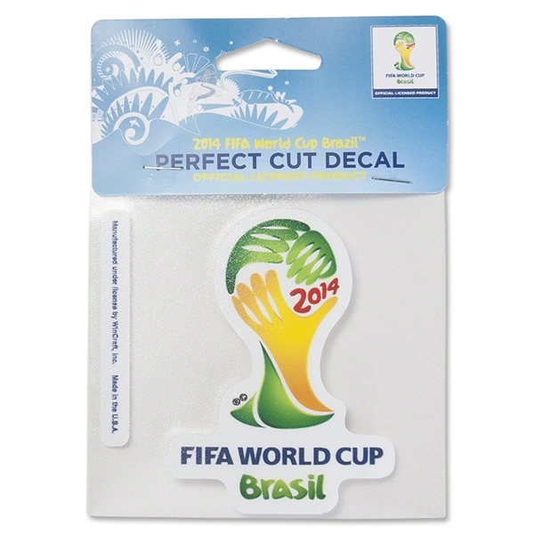 2014 FIFA World Cup (TM) Logo 4x4 Decal
