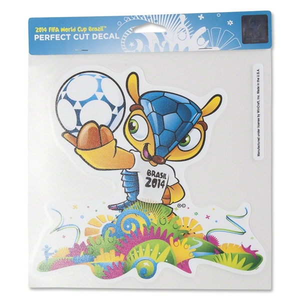 2014 FIFA World Cup(TM) Mascot 8x8 Decal