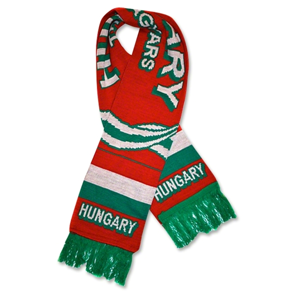 Hungary Soccer Scarf