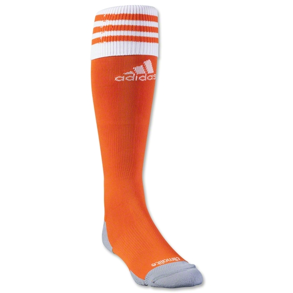 adidas Copa Zone Cushion II Irregular Sock 3 Pack (Org/Wht)
