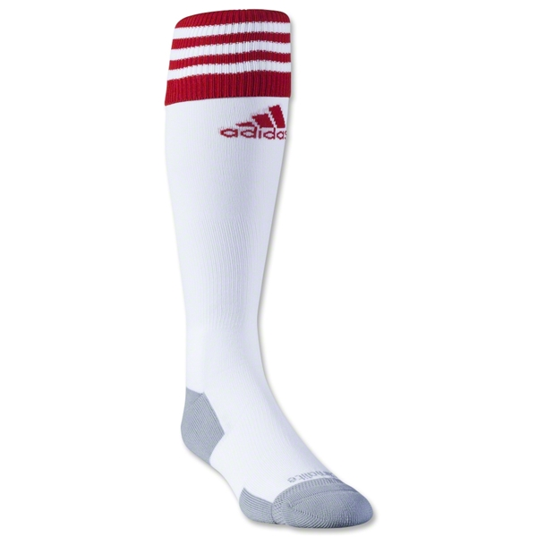 adidas Copa Zone Cushion II Irregular Sock 3 Pack (Wh/Sc)