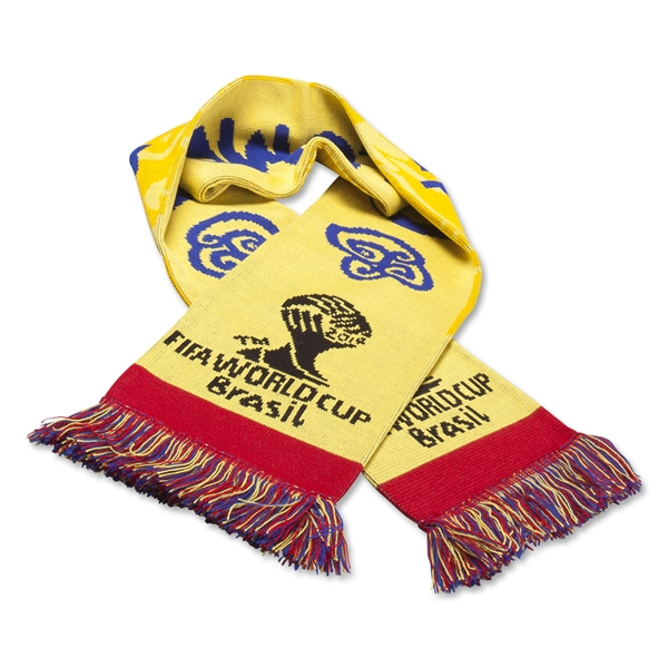 Colombia 2014 FIFA World Cup Brazil(TM) Scarf