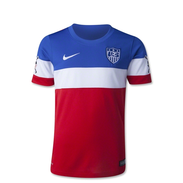 USA 14/15 American Outlaws Youth Away Soccer Jersey