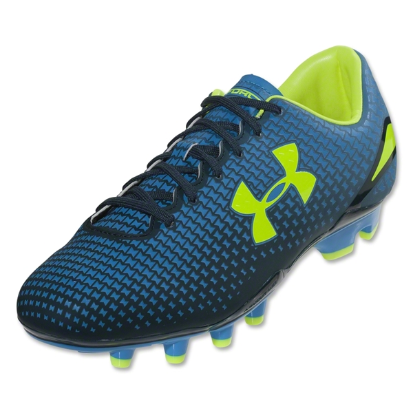 Under Armour Speed Force FG (Electric Blue/Academy/High-Vis Yellow)