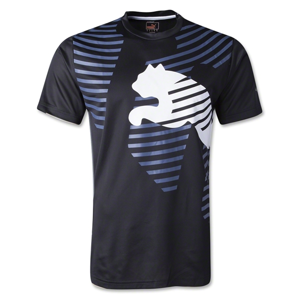 PUMA IT evoTRG Graphic T-Shirt (Blk/Wht)